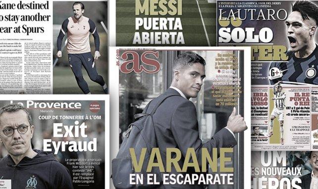 Lautaro Martínez scelle son avenir à l'Inter, le Real Madrid ne retiendra pas Raphaël Varane