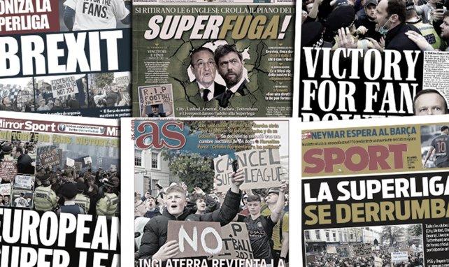 L'Europe remercie les héros anglais pour le fiasco de la Super League