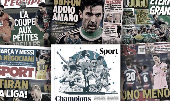 Le Real Madrid remercie Neymar pour le dossier Mbappé, la presse anglaise rend hommage au nouveau titre de Manchester City