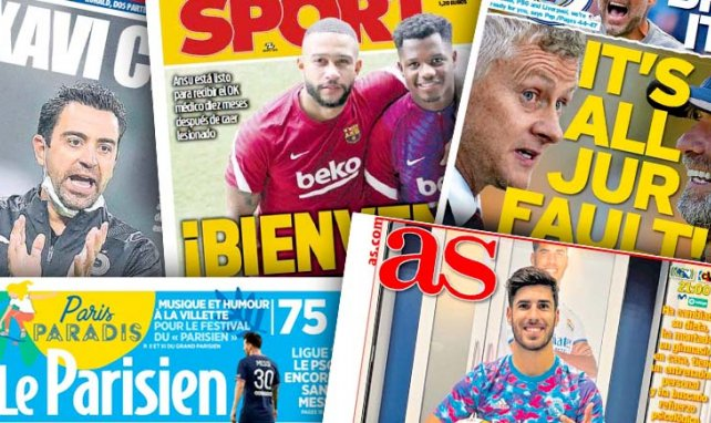 Ole Gunnar Solskjær s'en prend véhément à Jürgen Klopp, le Barça attend le retour de son messie avec impatience