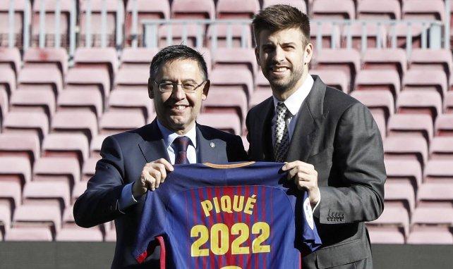 FC Barcelone : Gerard Piqué se paie Josep Maria Bartomeu