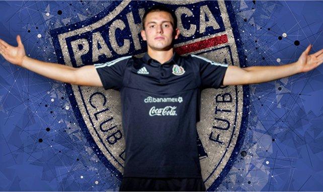 L'espoir mexicain Eugenio Pizzuto