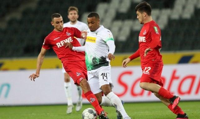 Alassane Pléa avec le Borussia Mönchengladbach