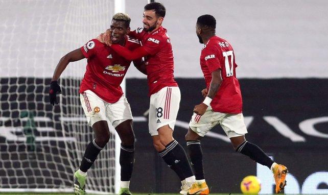 PL : Manchester United renverse Fulham et prend la 1ère place