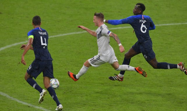 EdF : Raphaël Varane est fou de Paul Pogba