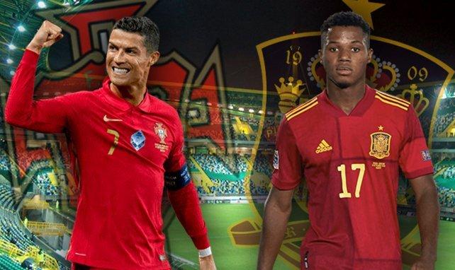 Les compos probables de Portugal-Espagne