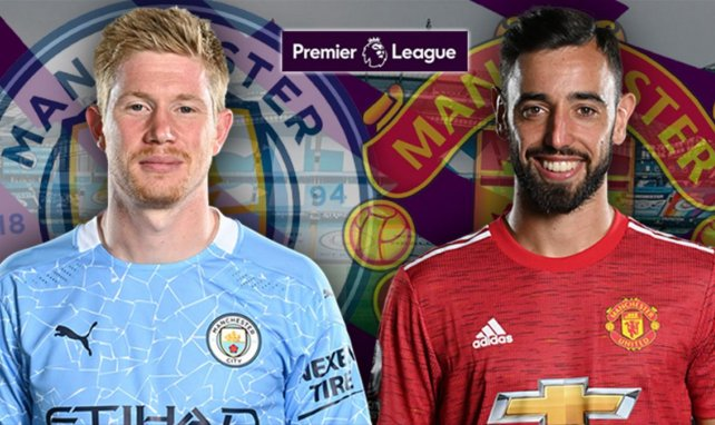 Manchester City - Manchester United : les compositions probables