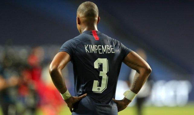 Presnel Kimpembe après la finale de la C1 entre le PSG et le Bayern Munich