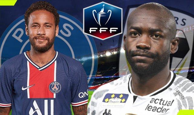 Le PSG accueille Angers en quart de finale de la Coupe de France