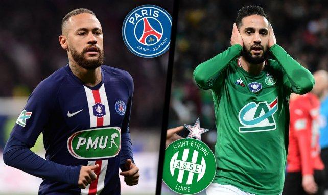 Les compos probables de la Finale de Coupe de France entre le PSG et l'ASSE !