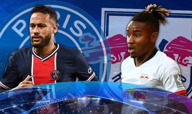 PSG-RB Leipzig : les compositions officielles
