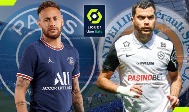 PSG-Montpellier : les compositions officielles