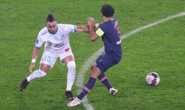 Dimitri Payet au duel face à Marquinhos