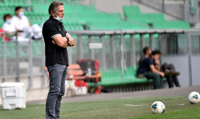 Claude Puel, le coach de l'AS Saint-Étienne