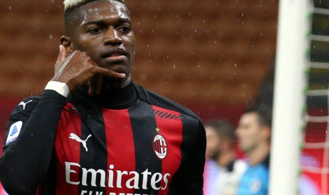 Rafael Leão sous le maillot de l'AC Milan