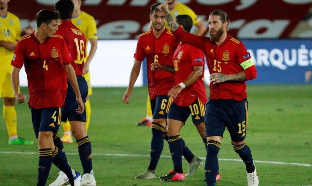 Pau Torres et Sergio Ramos en sélection