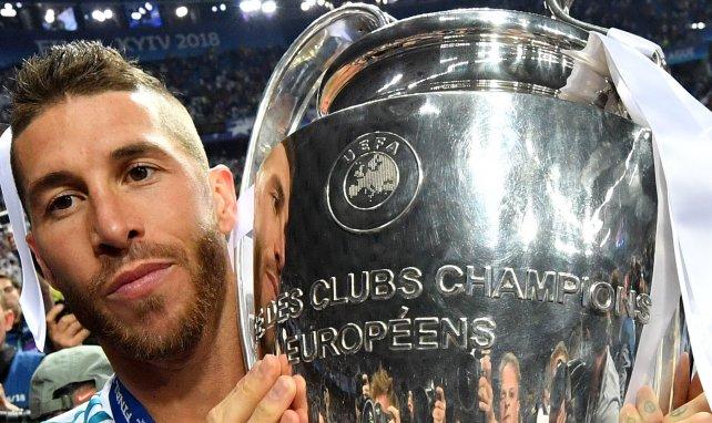 Sergio Ramos a gagné la Ligue des Champions en 2018