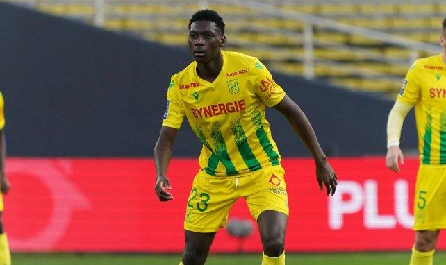 Randal Kolo Muani sous le maillot du FC Nantes