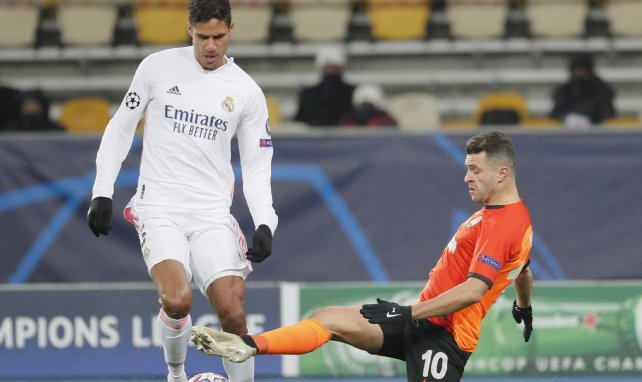 La statistique catastrophique de Raphaël Varane