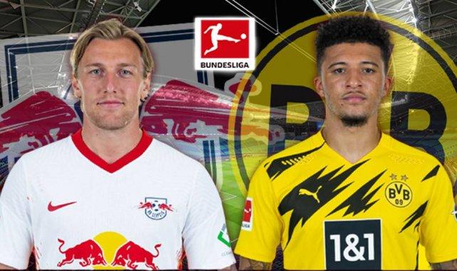 Les compositions probables de RB Leipzig - Borussia Dortmund