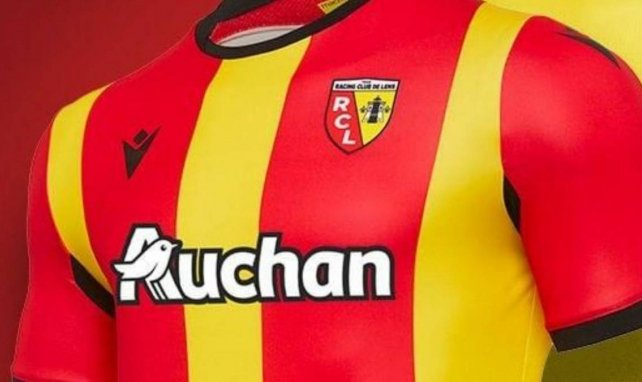 Le RC Lens dévoile son maillot domicile pour la saison 2020/2021