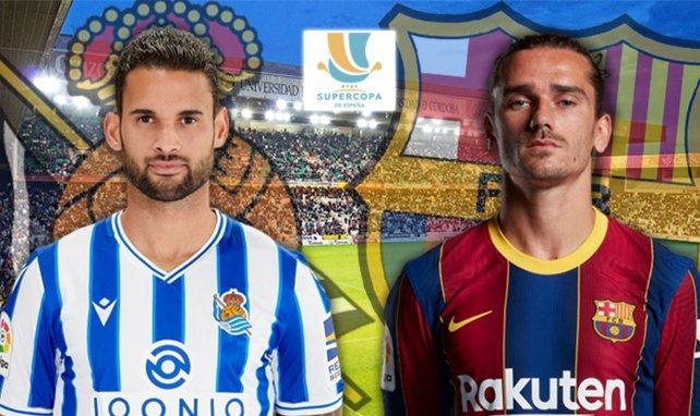 Willian José (Real Sociedad) - Antoine Griezmann (Barcelone)