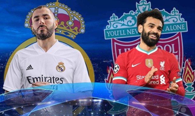 Benzema et Salah sont attendus titulaires ce mardi soir