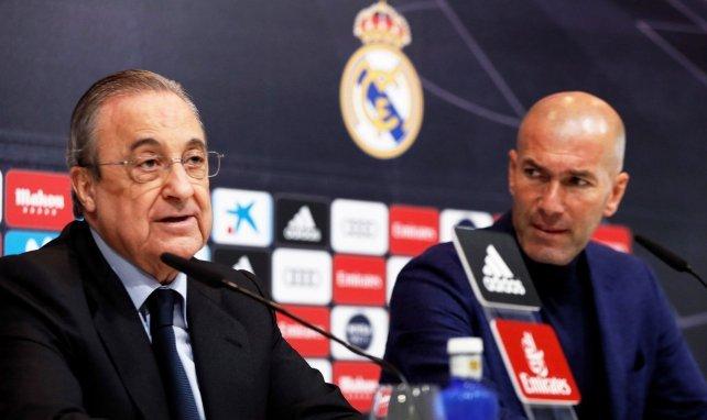 Real Madrid : Florentino Pérez a tranché pour l'avenir de Zinedine Zidane