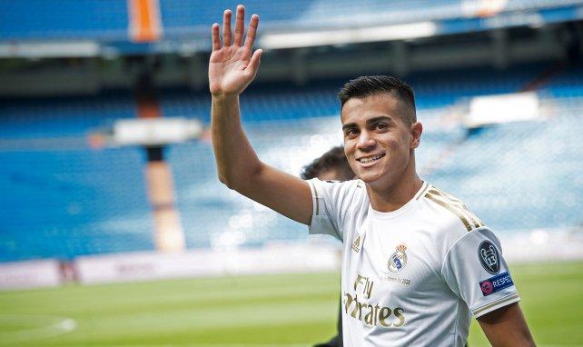 Reinier sous le maillot du Real Madrid