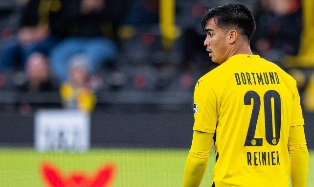 Reinier sous le maillot de Dortmund
