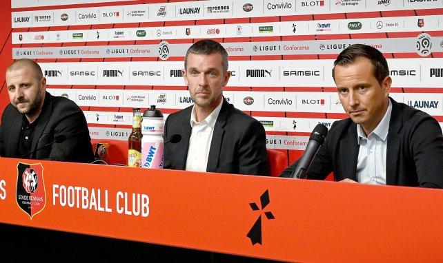 Rennes officialise le départ de Julien Stéphan
