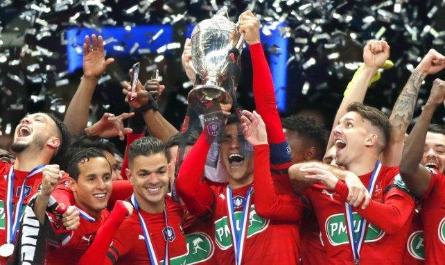 Rennes vainqueur de la Coupe de France