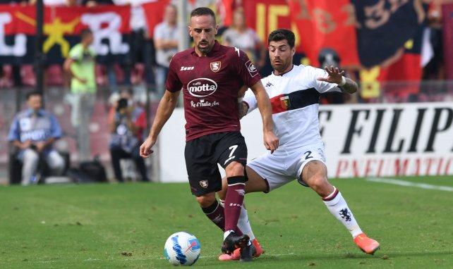 Franck Ribéry face au Genoa