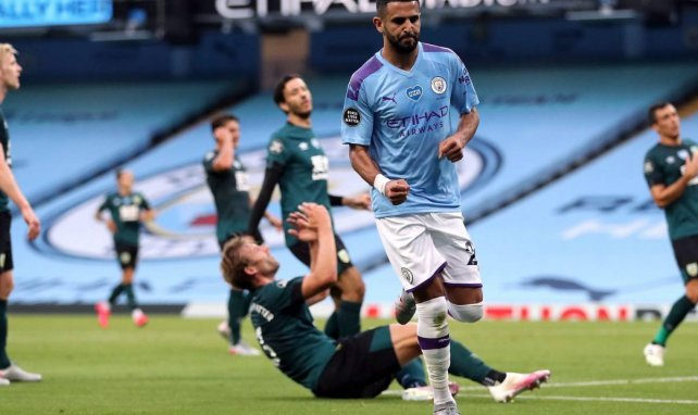 Man City : Pep Guardiola encense Riyad Mahrez