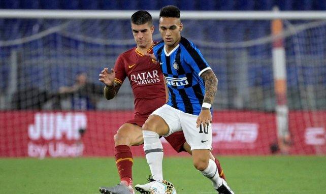 Lautaro Martínez face à l'AS Roma
