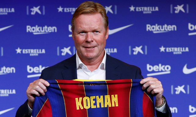 Barça : la grosse mise au point de Ronald Koeman