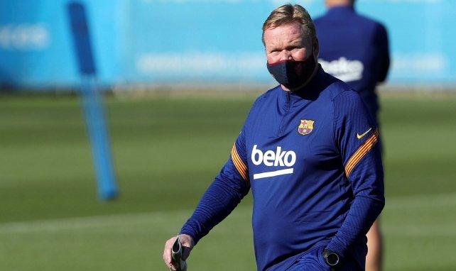Barça : Ronald Koeman dénonce des propos déplacés d'Allan Nyom