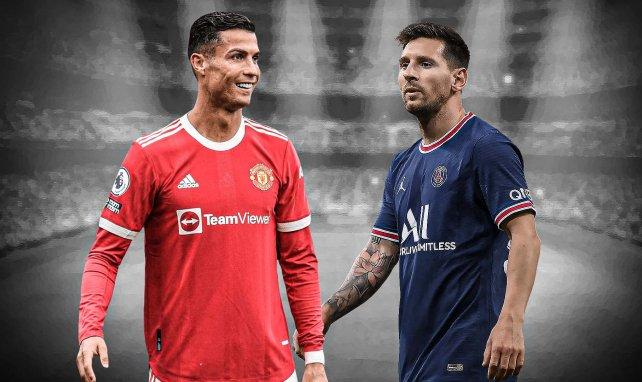 Cristiano Ronaldo met déjà Lionel Messi à distance !