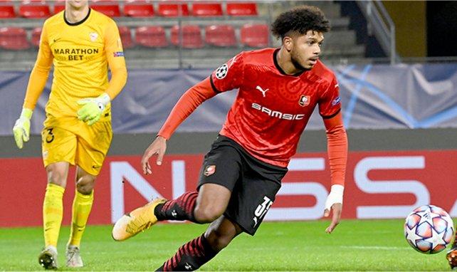 Georginio Rutter marque en LdC contre le Séville FC