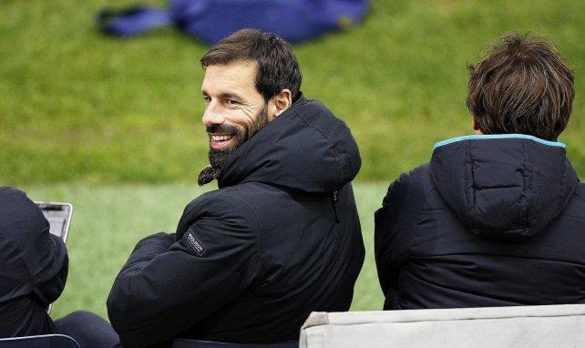 Ruud van Nistelrooy a déjà coaché les U19 du club d'Eindhoven