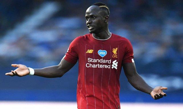 Sadio Mané sous le maillot de Liverpool