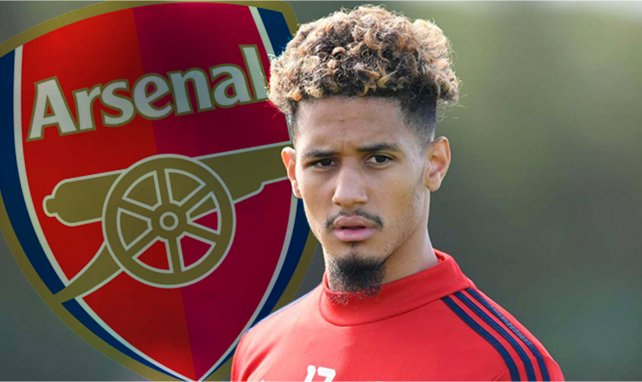 William Saliba à Arsenal