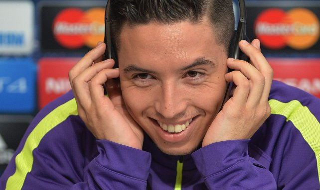 LdC : Samir Nasri félicite Man City pour la qualification