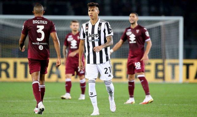 Kaio Jorge sous le maillot de la Juventus