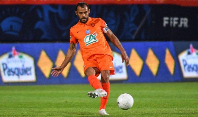 Vitorino Hilton sous le maillot de Montpellier