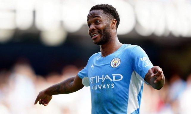 Raheem Sterling sous le maillot de Manchester City