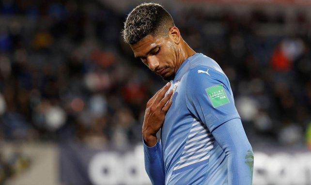 Ronald Araujo sous le maillot de l'Uruguay