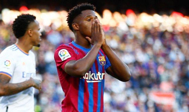 Le FC Barcelone retient son souffle pour Ansu Fati