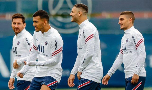 PSG : Lionel Messi et Marco Verratti présents à l'entraînement