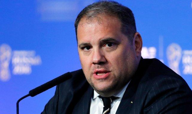 Le président de la CONCACAF Victor Montagliani